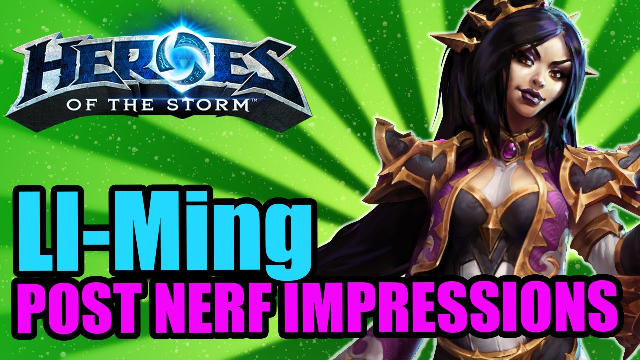 Image Result For Heroes Of The Storm Build Li Ming
