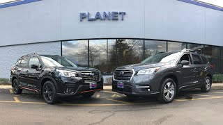 Should I buy the Subaru Forester or the Subaru Ascent?
