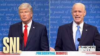Final Debate Cold Open - SNL