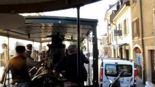 Traversée de Carouge en tram vapeur