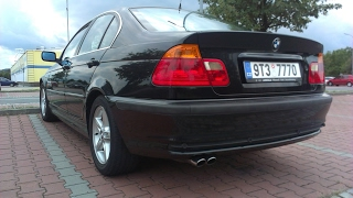 BMW E46 323i stock exhaust sound