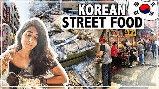 BEST Korean Street Food Travel Guide in Seoul