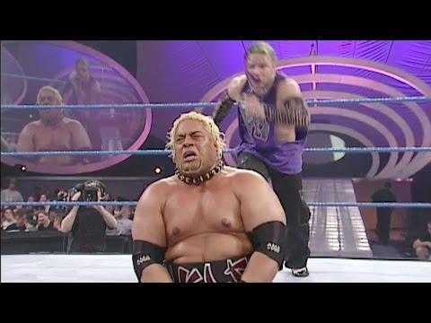 Jeff Hardy vs. Rikishi: SmackDown, Feb. 22, 2001