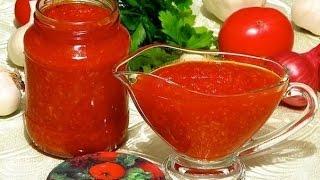 Заготовки на зиму:Мой любимый томатный соус(томатная паста)