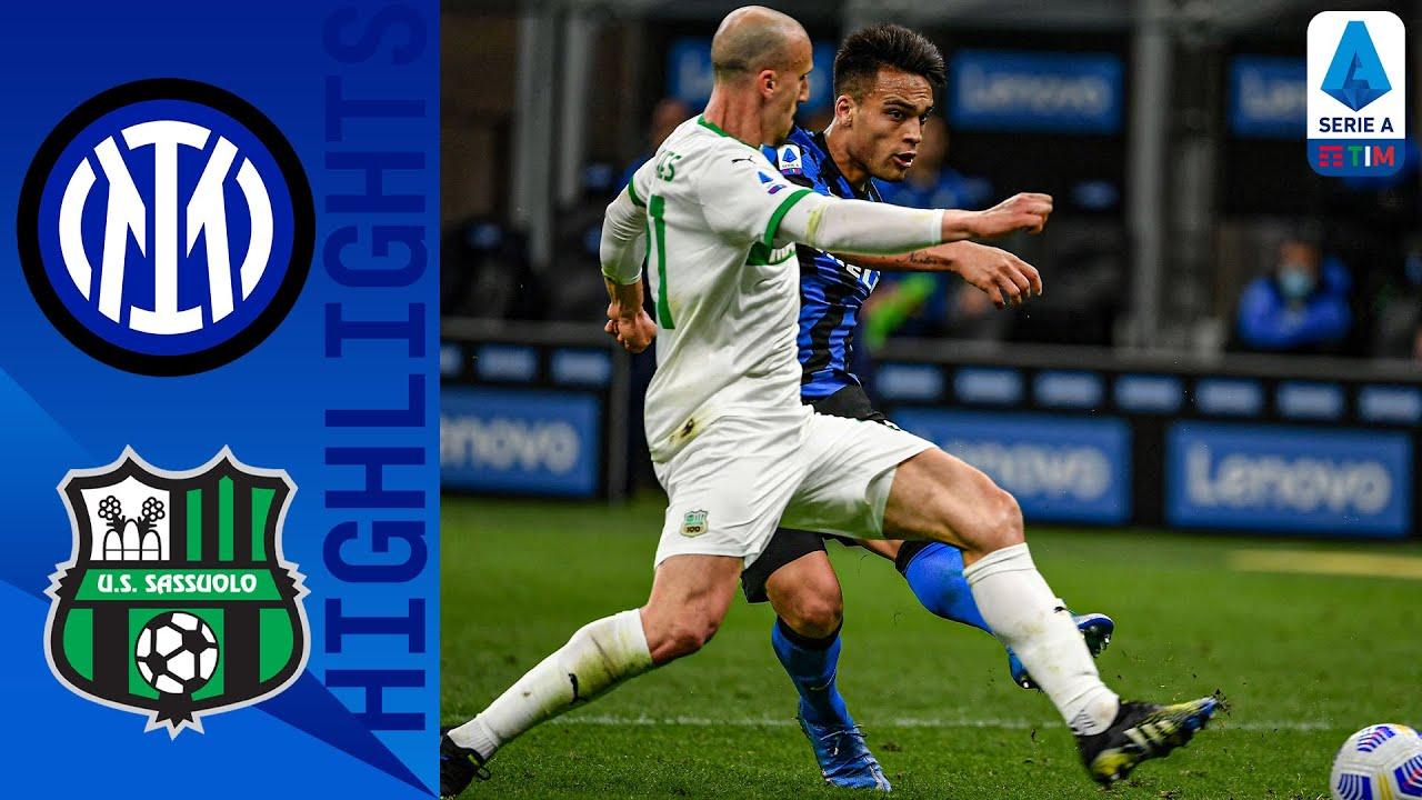 Inter 2-1 Sassuolo | Martínez Secures Victory for Inter | Serie A TIM