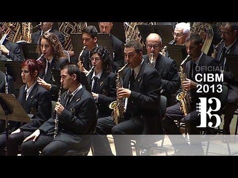 CIBM 2013 - Banda Simfónica De La Unió Musical D'Alaquàs - Variacions Iròniques