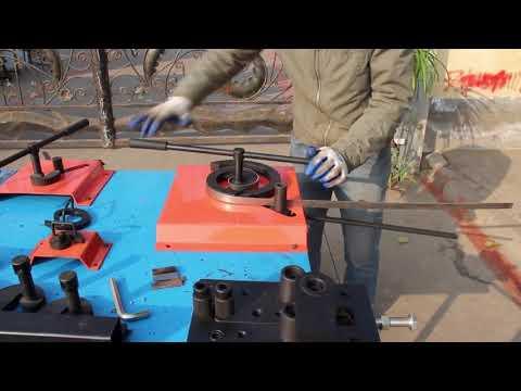 DH-SW13 Manual Wrought Iron Scroll Bender Tool Metal Craft Scroll Bending Tool