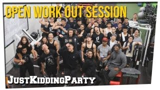 Open Work Out Session ft Bart Kwan, Geo Antoinette, Hanh Champion, Ice1Cubed, Matt Ogus,