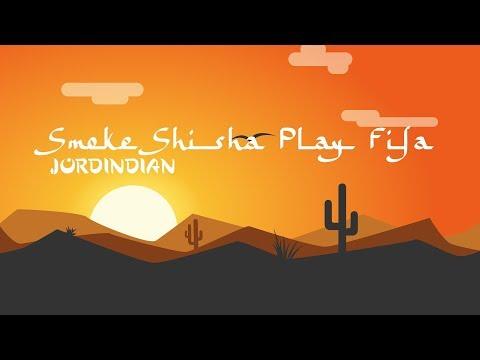 Jordindian - Smoke Shisha Play Fifa (Lyrics)🎵