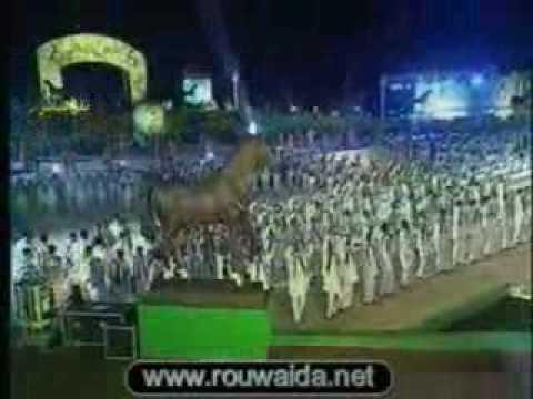 Rouwaida Attieh/ رويدا عطية  in Lybia 31.08.09 First Song