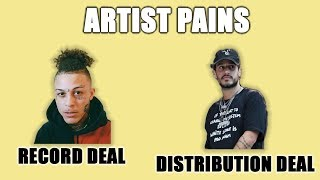 Top 4 Music Deals Artists Should Know
