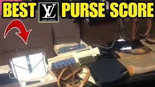 We found high end purse collection in $450 storage , unbox 48 CHANEL CELINE LOUIS VUITTON GUCCI