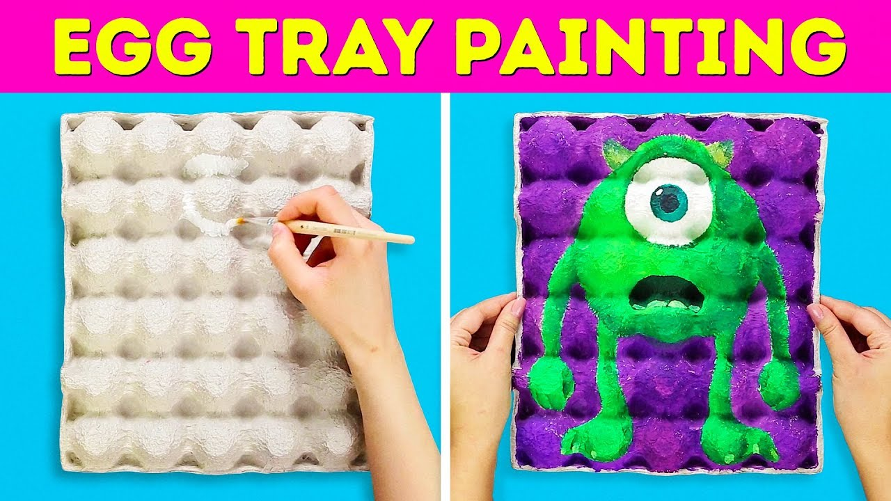 13 Cute Ideas For Kids Artwork Youtube
