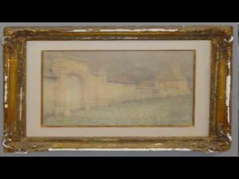 Henri Le Sidaner | LE VIEUX PORTAIL | Antique Artwork | Clarke Auction Gallery