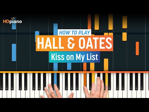 "How To Play ""Kiss on My List"" by Hall & Oates 