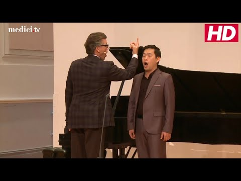 Master Class with Thomas Hampson - 2015 Manhattan School of Music - Gounod: Faust