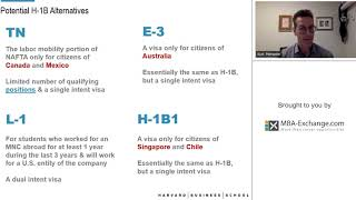 TT USA Immigration   Potential H 1B Alternatives