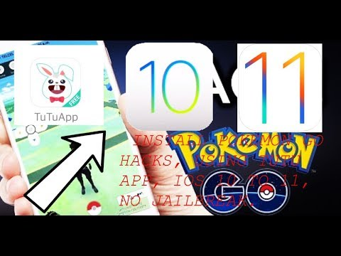 How to install Pokemon Go Hacks (Tutu App) No jailbreak, IOS 9 to iOS 10