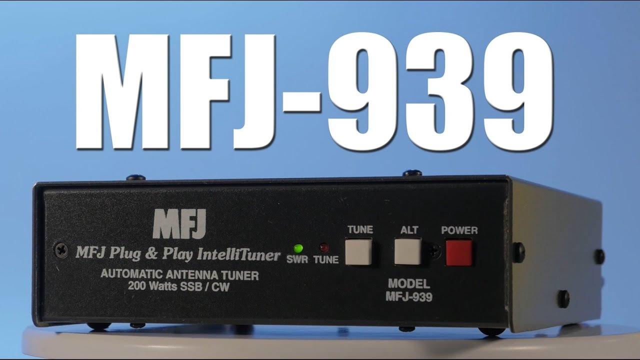 MFJ-939 Automatic Antenna Tuner