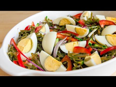 Очень ВКУСНЫЙ салат из Морской Капусты🍴БЫСТРЫЙ рецепт на Каждый День