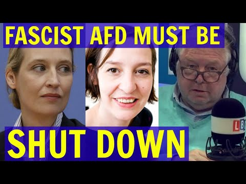 FASCIST AfD Leader Alice Weidel Must be SHUT DOWN Urges (((Zoe Williams))) - LBC