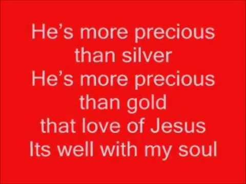the Love of Jesus, Charles Johnson - Lyrics
