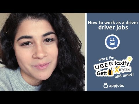 How to work as a driver - driver jobs | AppJobs