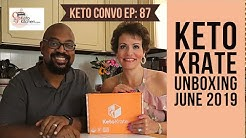 Keto Krate Unboxing June 2019 Box | New Keto Products | #ketoproducts #ketosnacks  #ketolifestyle