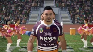 Brisbane Broncos Career S2 - Rugby League Live 4 (Round 24)