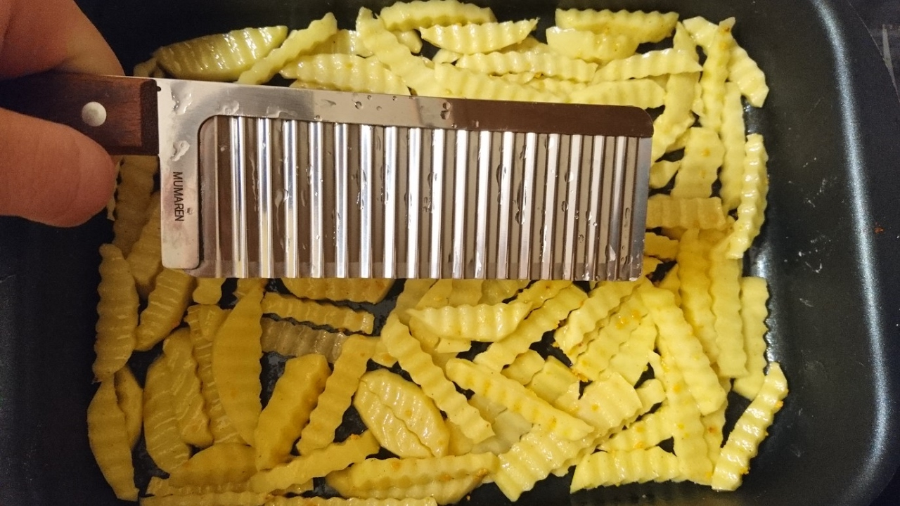 Нарезка картофель фри своими руками фото 374