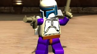 LEGO Star Wars: The Complete Saga Walkthrough Part 8 - Jedi Battle (Episode II)