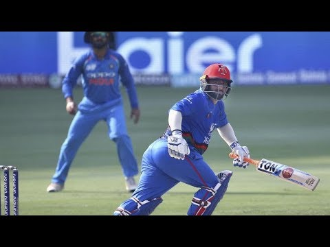 Asia Cup 2018: Mohammad Shahzad's hundred lifts Afghanistan to 252-8 vs India