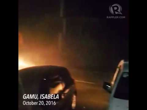 Super Typhoon Lawin: Landfall in Gamu, Isabela