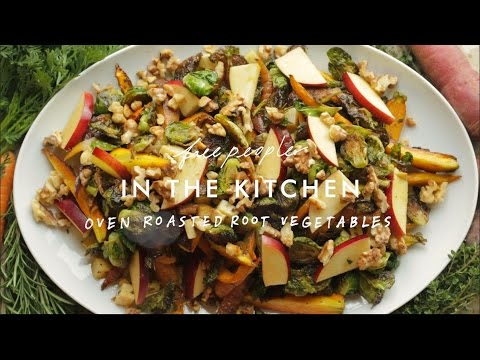 Roasted Vegetables Recipe | In The Kitchen | Free People