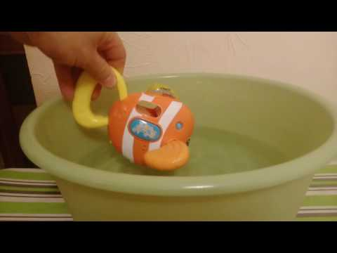 VTech Fish Sing And Splash ,  Grająca Rybka