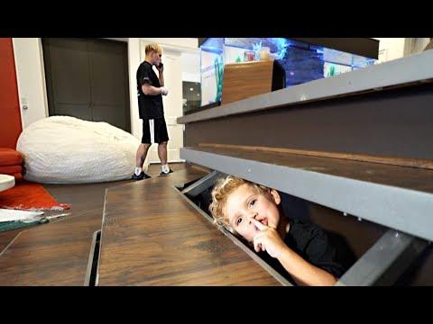 Tydus HIDES In Jake Paul's Room For 24HRS!! (Secret FOOTAGE)