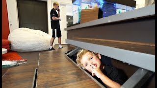 Tydus HIDES In Jake Paul's Room For 24HRS!! (Secret FOOTAGE)