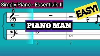 Simply Piano| Piano Man |Essentials II |Piano Tutorial