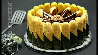 Tort fara coacere cu ciocolata | Tort de ciocolata Adygio Kitchen