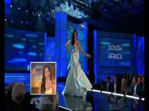 Tatum Keshwar - Miss South Africa - Miss Universe 2009 Evening Gown ...
