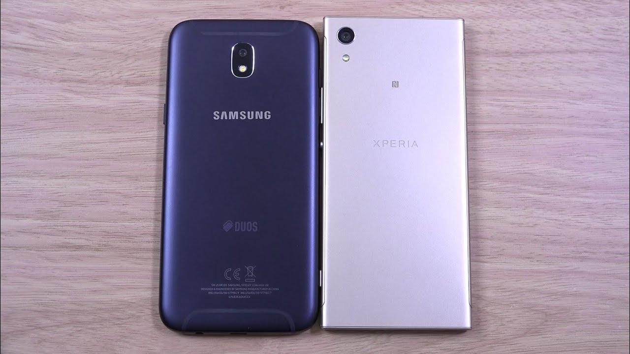 Samsung Galaxy J5 Pro and vs Sony Xperia XA1 - Speed Test