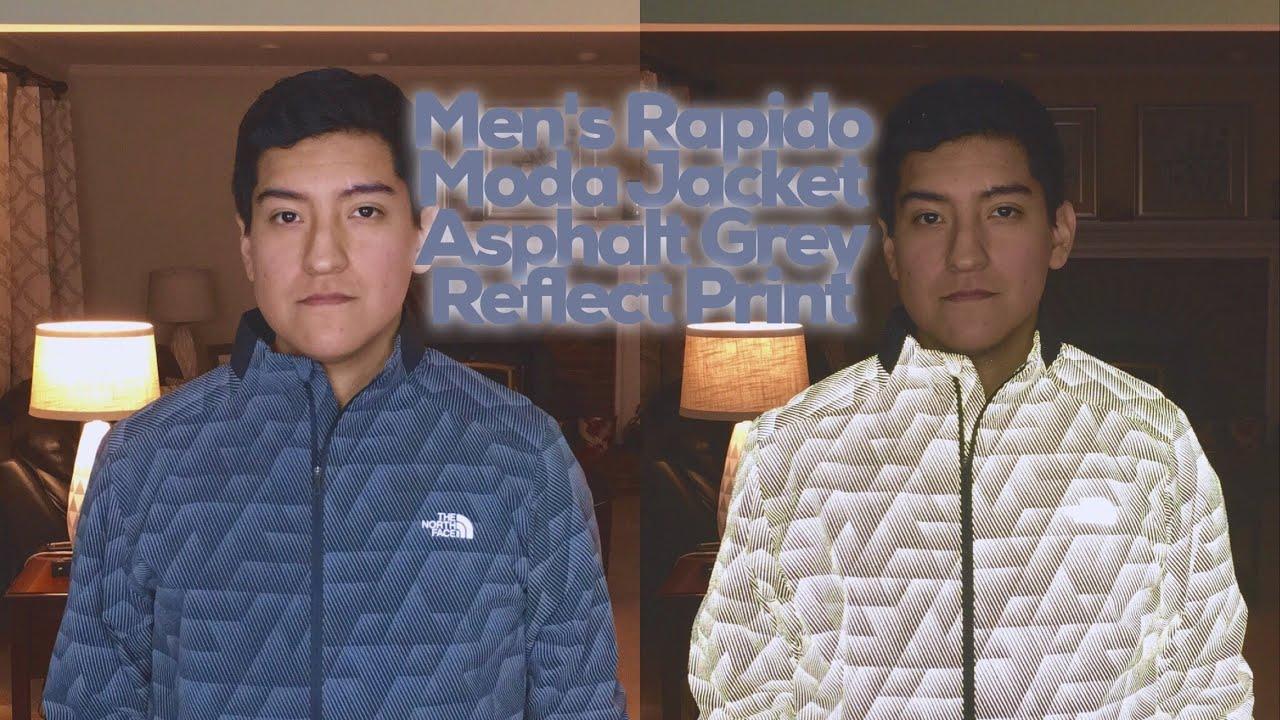 25d266331 Rapido Moda Jacket Asphalt Grey Reflect Print by The North Face