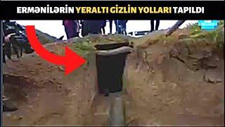 Füzulidə ermənilərin yeraltı YOLLARI, bunkerləri, gizlin sığınacaqları tapıldı