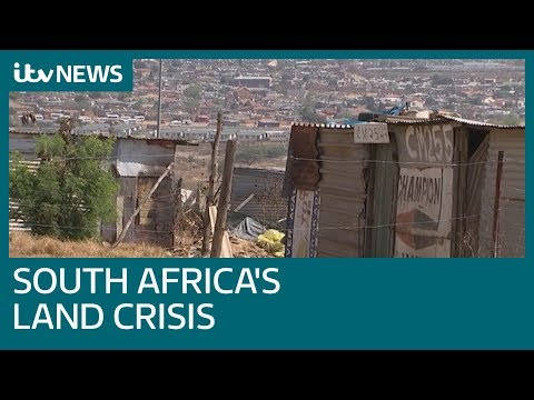 'It's our land and we want it now': South Africa faces land crisis | ITV News