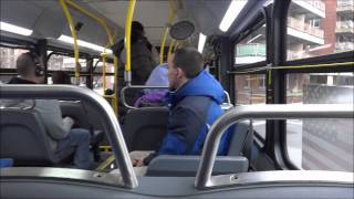 mta nyct bus on board new flyer xd40 xcelsior 4821 on the q88