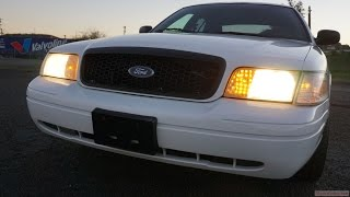 Buy a Used P71 Crown Victoria Police Interceptor Test Drive Video
