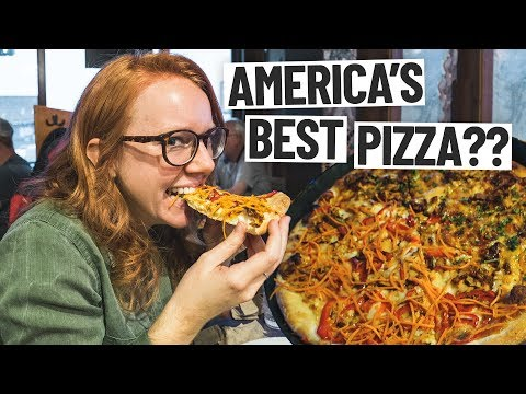 The Best Pizza In America IS IN ALASKA?? (Anchorage, Alaska)
