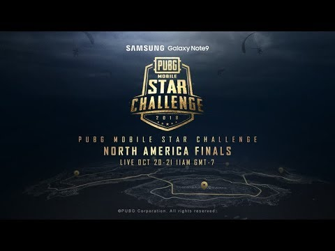 PMSC NA Finals Day 1 | Galaxy Note9 PUBG MOBILE STAR CHALLENGE - North America Finals Day 1