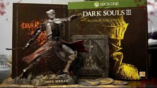 انبوكسينق لنسخة دارك سولز 3 الكولكشن أديشن Dark Souls 3 Collector's Edition