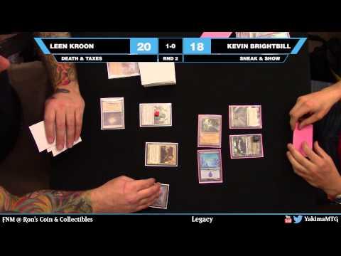 Leen Kroon vs. Kevin Brightbill FNM 05-08-15